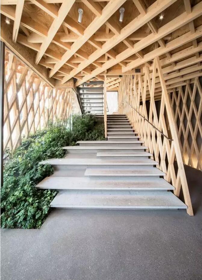木结构屋水电家装布线展示图