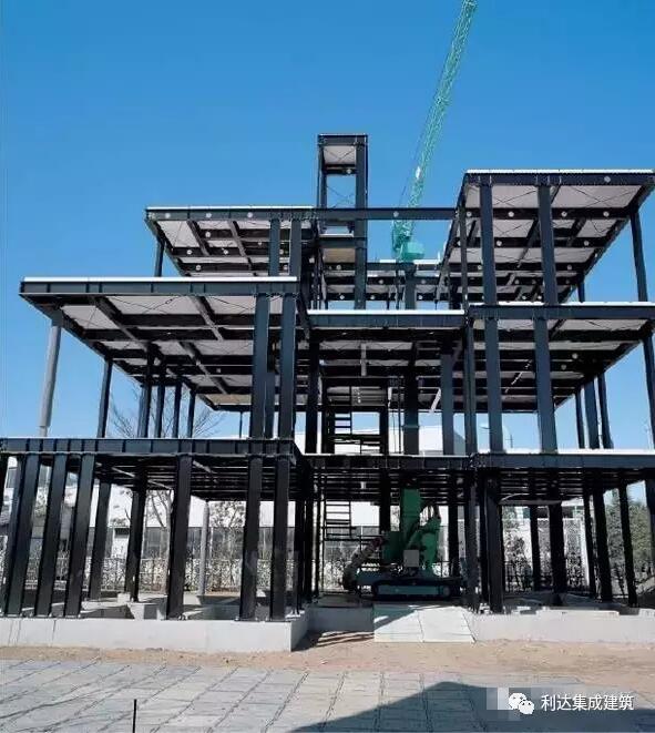 中,外钢结构住宅的几种实用体系 - 预制建筑网:装配式