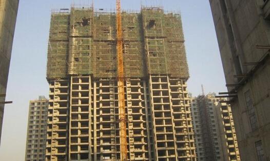 6月10日,在河北省首个装配式住宅项目——唐山浭阳新城五区一期9号