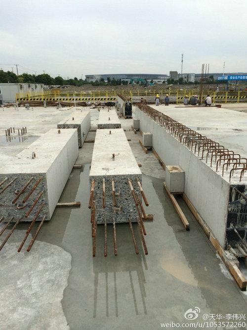 预制混凝土装配式框架结构吊装 - 预制建筑网:装配式