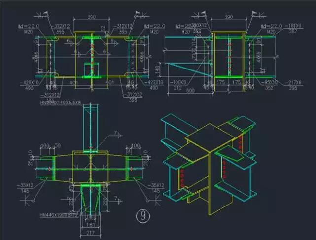 在学习钢结构识图之前,需要认识钢结构图纸上的一些基本表示方法