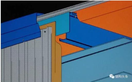 一:防冷桥措施 钢结构屋面易出现冷桥现象的部位: 1.檩条冷桥  2.围梁冷桥 墙面保温材料被压扁而形成冷桥   3.次檩条冷桥 钢板间次檩条形成冷桥   4.自攻螺钉冷桥 该自攻螺钉一端在室内,另一端可以说直接暴露于室外,所以室内端很容易产生结露,极端寒冷时甚至会产生挂冰现象。   5.