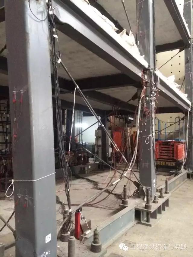 清华大学土木工程系顺利完成全预制装配式钢框架结构足尺第二阶段试验