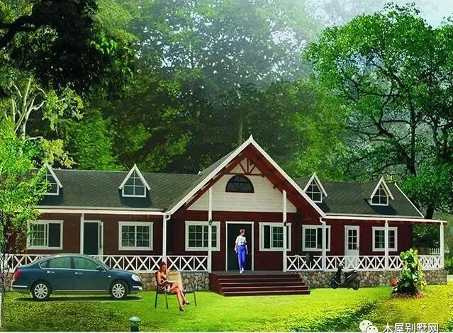 欧洲乡村独具风格的木屋可以说是这一切的灵魂--没有