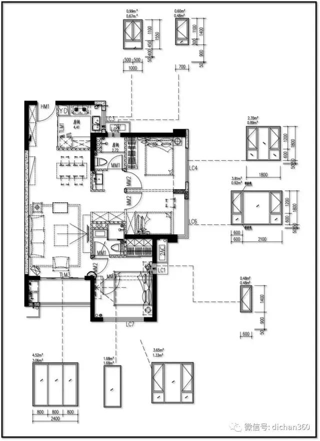 装配式建筑学院 > 万科高层住宅『立面设计』标准化方法及思路  厨房
