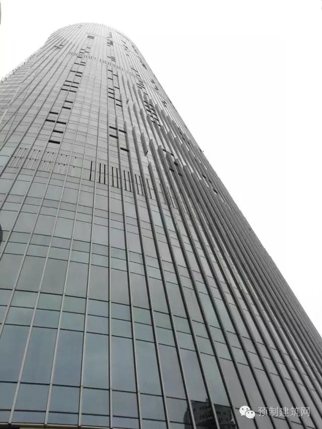 世茂海峡大厦玻璃幕墙