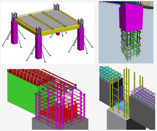 预制装配整体式混凝土框架结构体系示意图