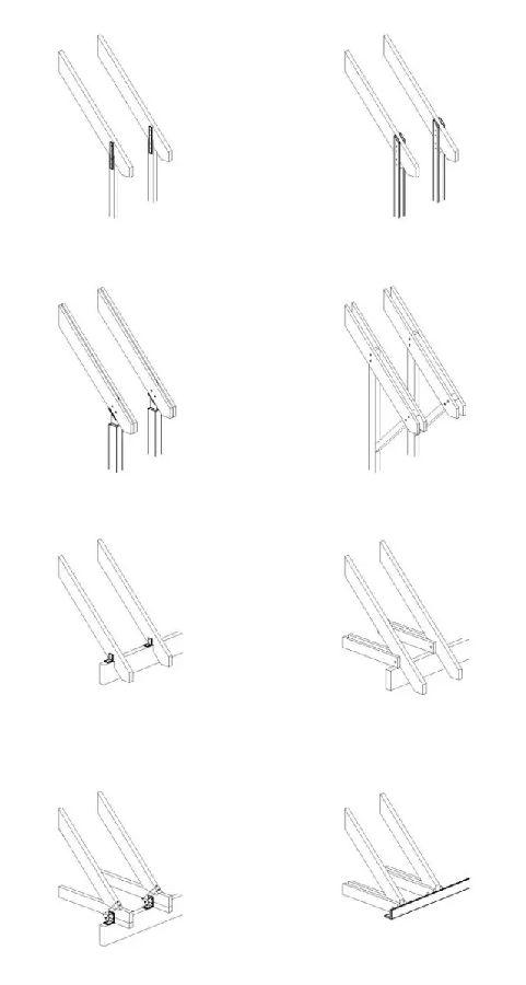 6,坡屋顶结构构件