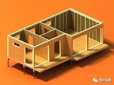 高度预制化的木结构建筑