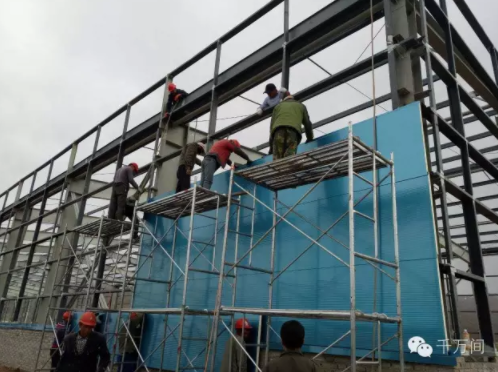新型钢结构厂房的十大优点 - 预制建筑网:装配式建筑