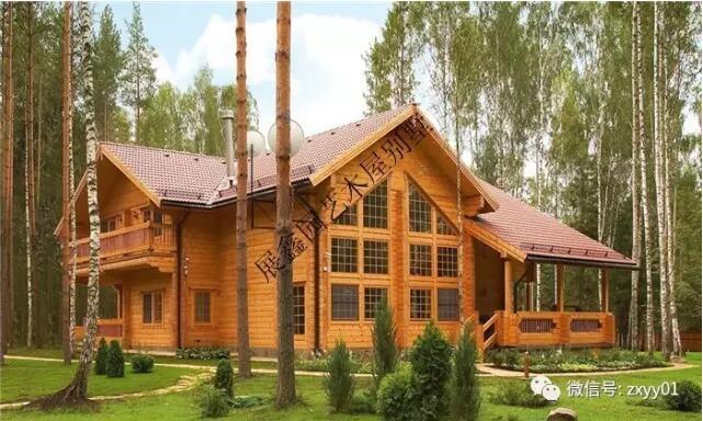 > 木结构别墅常用工程木  墙骨柱级:是构成房屋楼层和墙体结构的支撑.