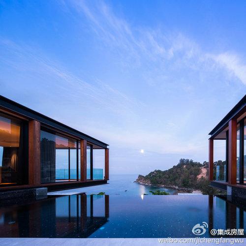 首页 专栏 预制空间 > 泰国普吉岛的钢木模块化度假酒店  住宅产业化
