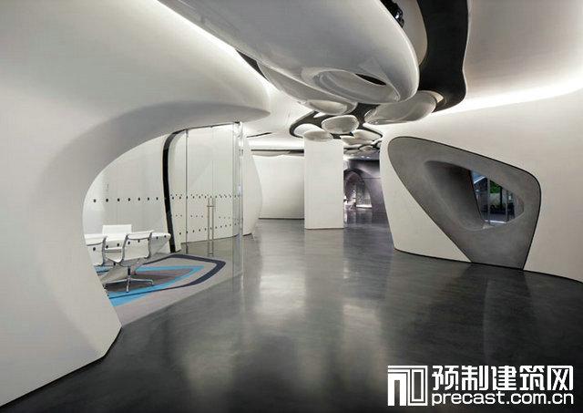 乐家伦敦展厅 - 预制建筑网:装配式建筑行业平台图片