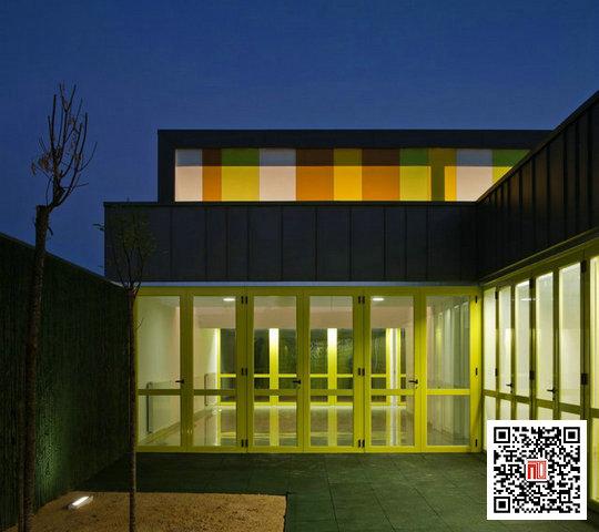 幼儿园夜景教室布置图片