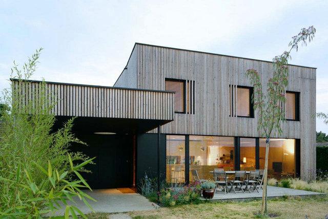 钢结构装配式建筑别墅