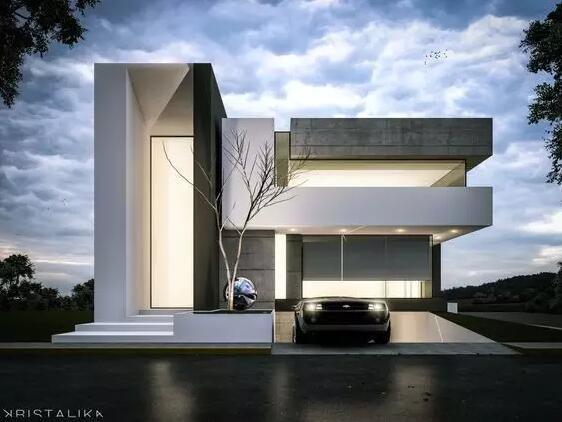 一波建筑立面细部设计