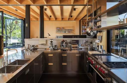 新西兰habitus钢木结构别墅