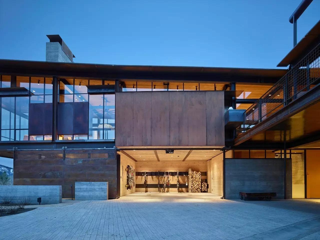 一半粗糙,一半精致,鄉下房子磚木結構和鋼結構才有范兒